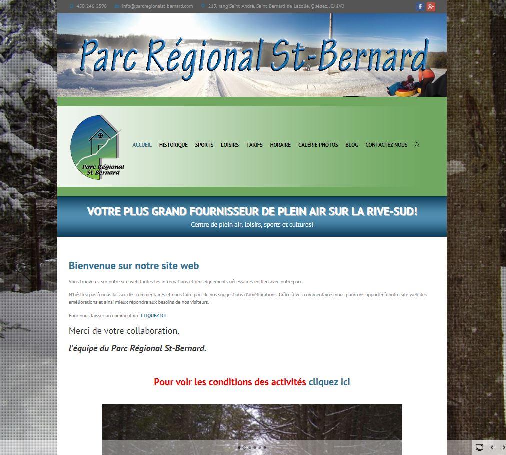 parc régional st-bernard