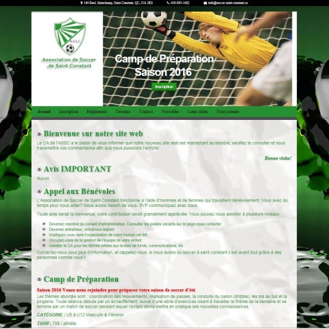 Association de Soccer de Saint-Constant