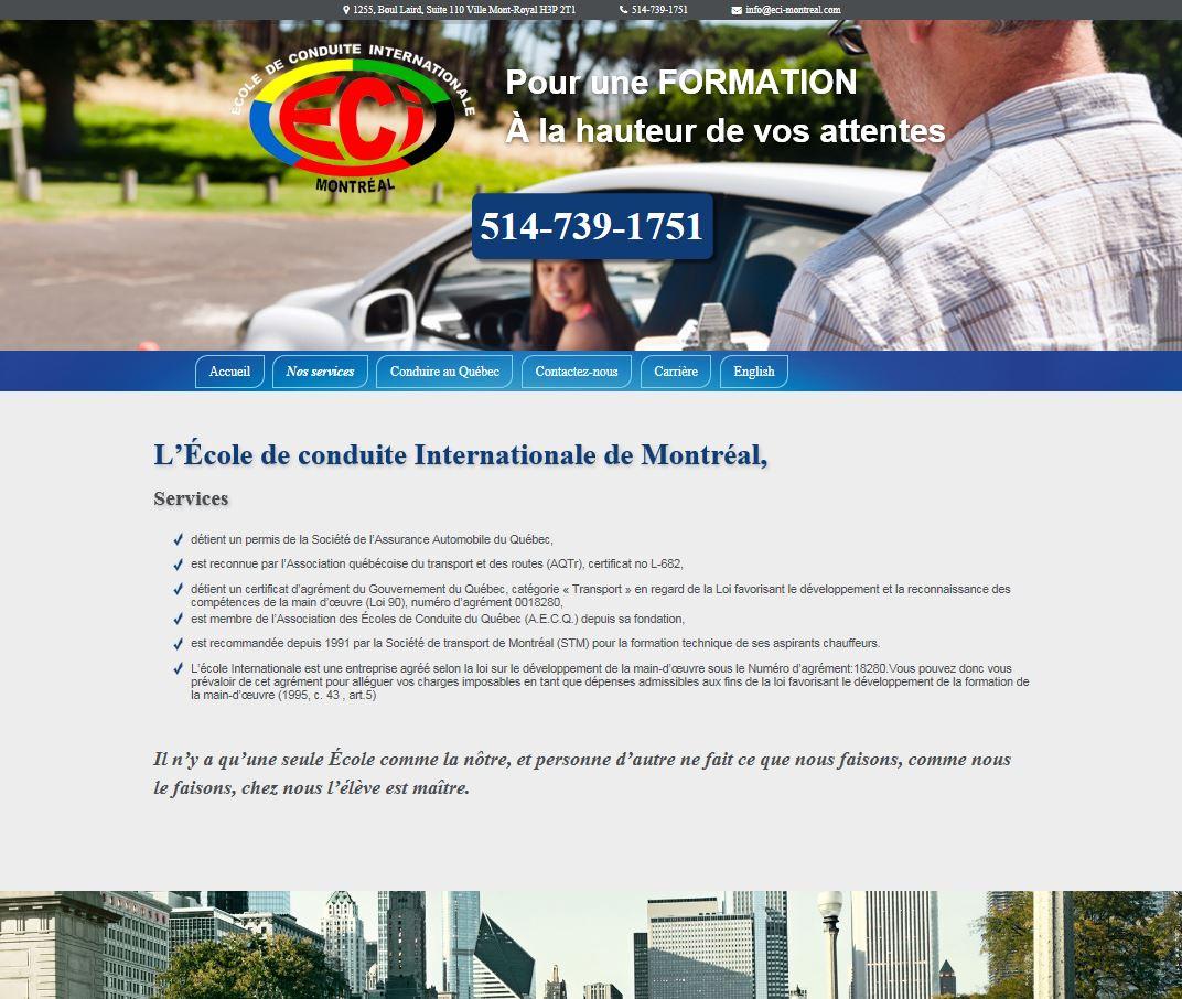 école de conduite internationnale