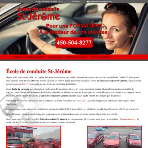 École de conduite St-Jérôme