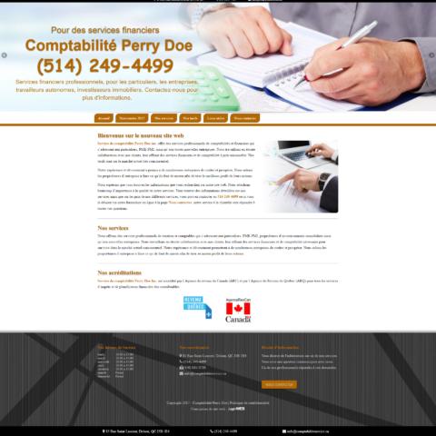Comptabilité Perry Doe