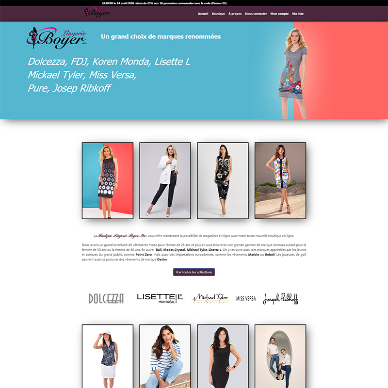 boutique lingerie boyer